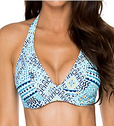 Sunsets Majorca Muse Underwire Halter Swim Top 51MA