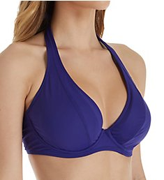 Sunsets Sapphire Muse Underwire Halter Swim Top 51SP