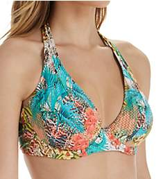 Sunsets Tahitian Dream Muse Underwire Halter Swim Top 51TD