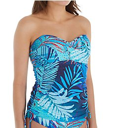 Sunsets Ocean Paradise Shirred Underwire Tankini Swim Top 76OP