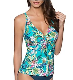 Sunsets English Garden Forever Underwire Tankini Swim Top 77EG