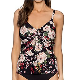Sunsets Sakura Fields Marina Underwire Tankini Swim Top 78SF