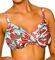 Swim Systems Coconut Grove Shirred Underwire Swim Top A794COG
