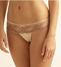 The Little Bra Company Yvone Petite Lace Thong P001T