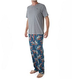 Tommy Bahama Tall Man Seaside Santa Beach Loungewear Set 2191222XT