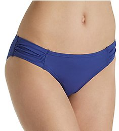 Tommy Bahama Pearl Solids Side Shirred Hipster Swim Bottom TSW31014B
