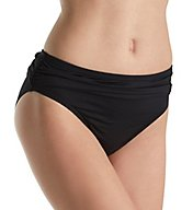 Tommy Bahama Pearl Solids High Waist Brief Swim Bottom TSW31018B