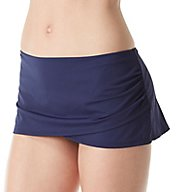 Tommy Bahama Pearl Solids Wrap Skirted Hipster Swim Bottom TSW31023B
