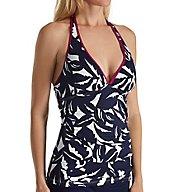Tommy Bahama Graphic Jungle Halter Tankini Swim Top TSW31306T