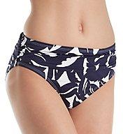 Tommy Bahama Graphic Jungle High Waist Brief Swim Bottom TSW31309B