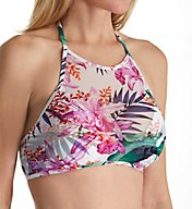 Tommy Bahama Orchid Canopy High Neck Halter Swim Top TSW31601T