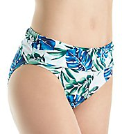 Tommy Bahama Fronds Floating High Waist Brief Swim Bottom TSW32609B