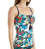Tommy Bahama Jungle Flora Tummy Control Tankini Swim Top TSW33706T