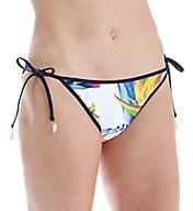 Tommy Bahama Happy Hibiscus Reversible Bikini Swim Bottom TSW51407B