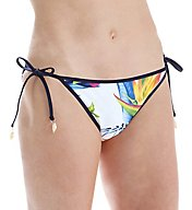 Tommy Bahama Happy Hibiscus Reversible Bikini Swim Bottom TSW51407B