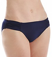 Tommy Bahama Pearl Solids Side Shirred Hipster Swim Bottom TSW52221B