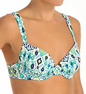 Tommy Bahama Ikat Full Coverage Underwire Swim Top TSW54200T