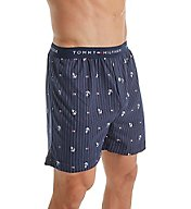Tommy Hilfiger Anchor & Flag Print Knit Boxer 09T3047