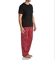 Tommy Hilfiger Poplin 100% Cotton Pajama Set 09T3079
