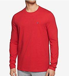 Tommy Hilfiger Long Sleeve Flag Crew Neck T-Shirt 09T3118