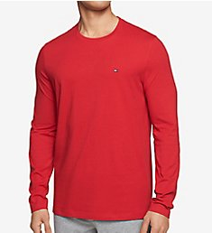 Tommy Hilfiger Long Sleeve Flag Crew Neck T-Shirt 09T3118