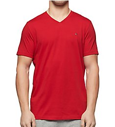 Tommy Hilfiger Core Flag V-Neck T-Shirt 09T3140