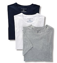 Tommy Hilfiger Cotton Stretch Crew Neck T-Shirts - 3 Pack 09T3147