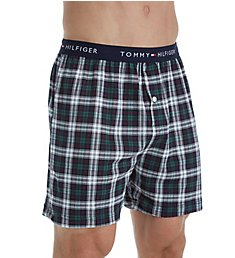 Tommy Hilfiger Printed Cotton Knit Boxer 09T3230
