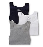 Tommy Hilfiger Basic 100% Cotton A-Shirt - 3 Pack 09TTK01