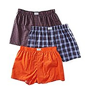 Tommy Hilfiger 100% Cotton Woven Boxers - 3 Pack 09TV043