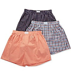 Tommy Hilfiger Cotton Classics Woven Boxers - 3 Pack 09TV070