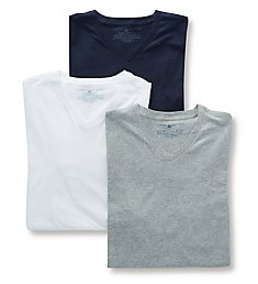 Tommy Hilfiger Basic 100% Cotton V-Neck - 3 Pack 09TVN01
