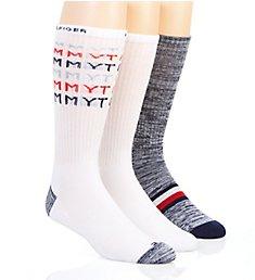 Tommy Hilfiger Faded Logo Cushion Crew Sock - 3 Pack 213CR02