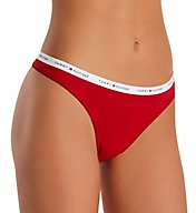 Tommy Hilfiger Classic Cotton Logo Thong R11T025