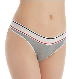 Tommy Hilfiger Sporty Cotton Lounge Mesh Band Thong R11T038