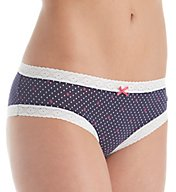 Tommy Hilfiger Cotton with Lace Cheeky Bikini Panty R14T028