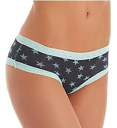 Tommy Hilfiger Cotton Cheeky Panty with Lace R14T028