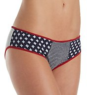 Tommy Hilfiger Cotton Hipster Print Mix Panty R17T049