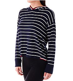 Tommy Hilfiger Global Stripe Trimmed Hoodie R27S121