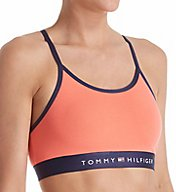Tommy Hilfiger Cotton Lounge Ladder Back Bralette R70T013