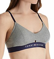 Tommy Hilfiger Cotton Lounge Keyhole Bralette with Cookies R70T016