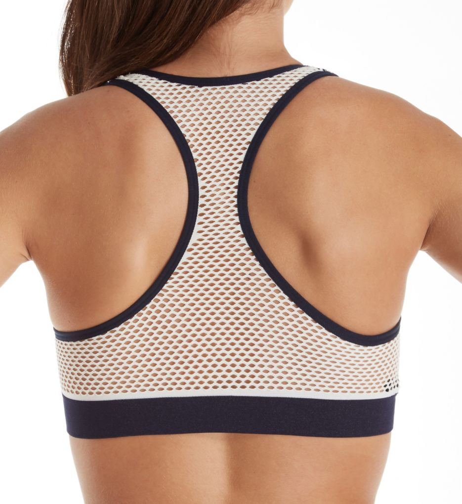 Tommy Hilfiger Seamless Logo Bralette with Mesh Detail R70T022