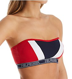 Tommy Hilfiger Perforated Micro Bandeau Bra R70T192