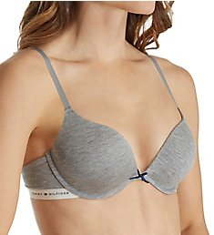 Tommy Hilfiger Modal Logoband Tailored Push Up Bra R72T024