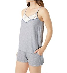 Tommy Hilfiger The American Dreamer Spacedye Camisole & Short Set R85S330