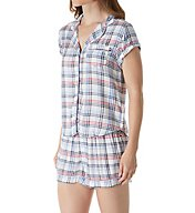 Tommy Hilfiger The American Dreamer Girlfriend PJ Top & Short Set R85S331