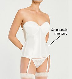Va Bien Ultimate Hourglass Smooth Satin Bustier 513