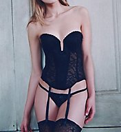 Va Bien So Femme Push Up Plunge Bustier 6163