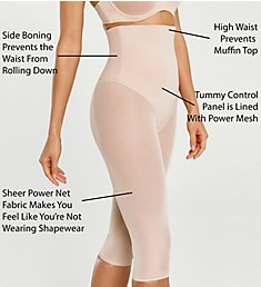 Va Bien Smooth Couture High Waist Shaping Capri Tights 633