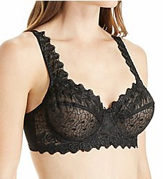 Valmont Embroidered Lace Underwire Bra 8320